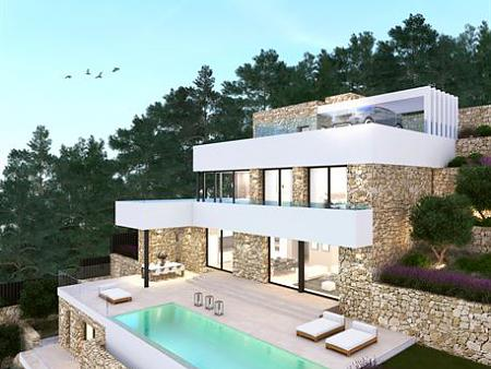 New high standard villa with elevator and swimmingpool in Moraira - Costa Blanca