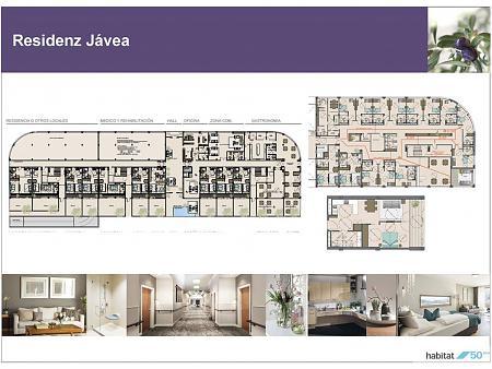 Architektur- und Innenarchitekturprojekt einer Seniorenresidenz in Jávea