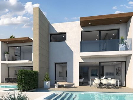 Semidetached villas in Moraira